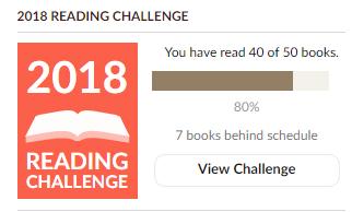 goodreads goal 16.12.2018